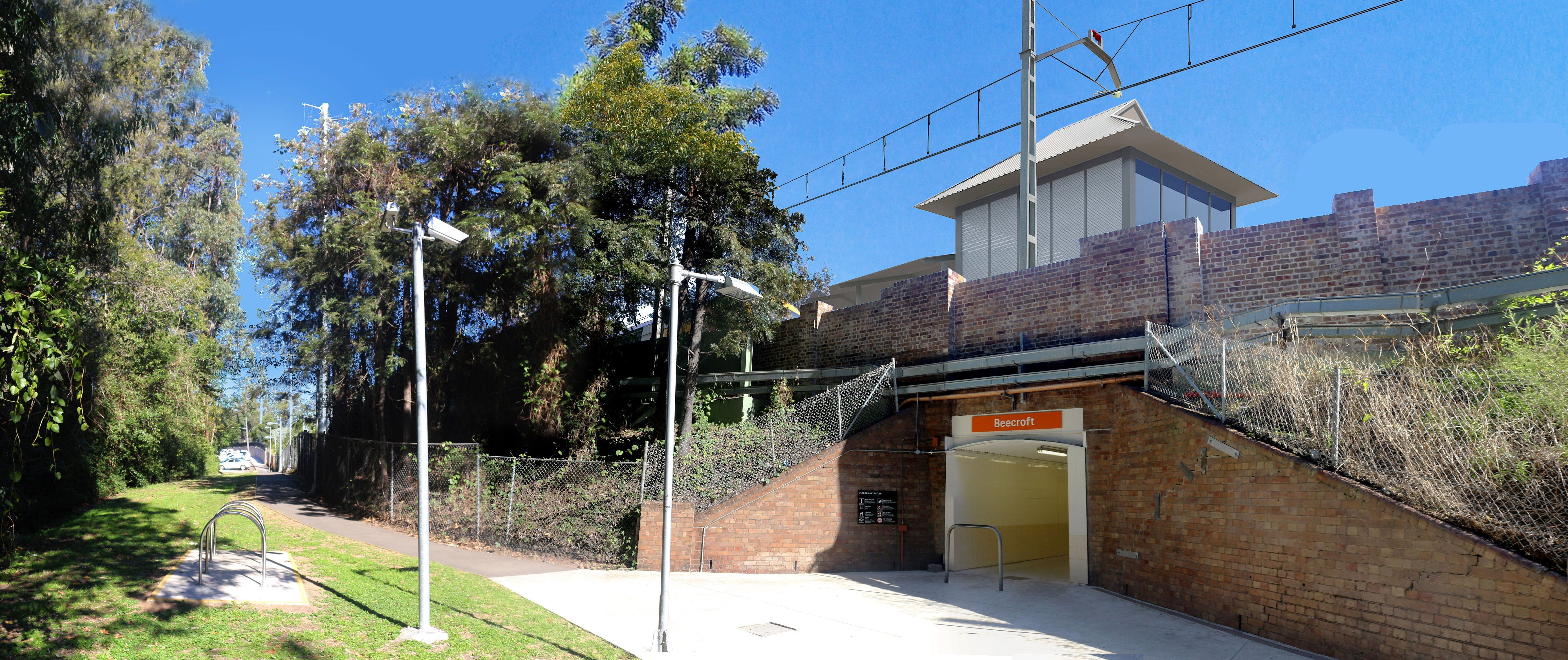 Beecroft Station Upgrade - subject to detailed design