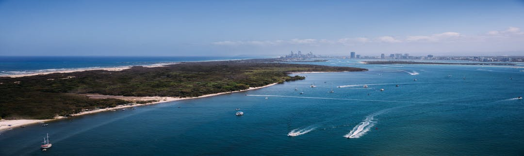 Aerial Broadwater view