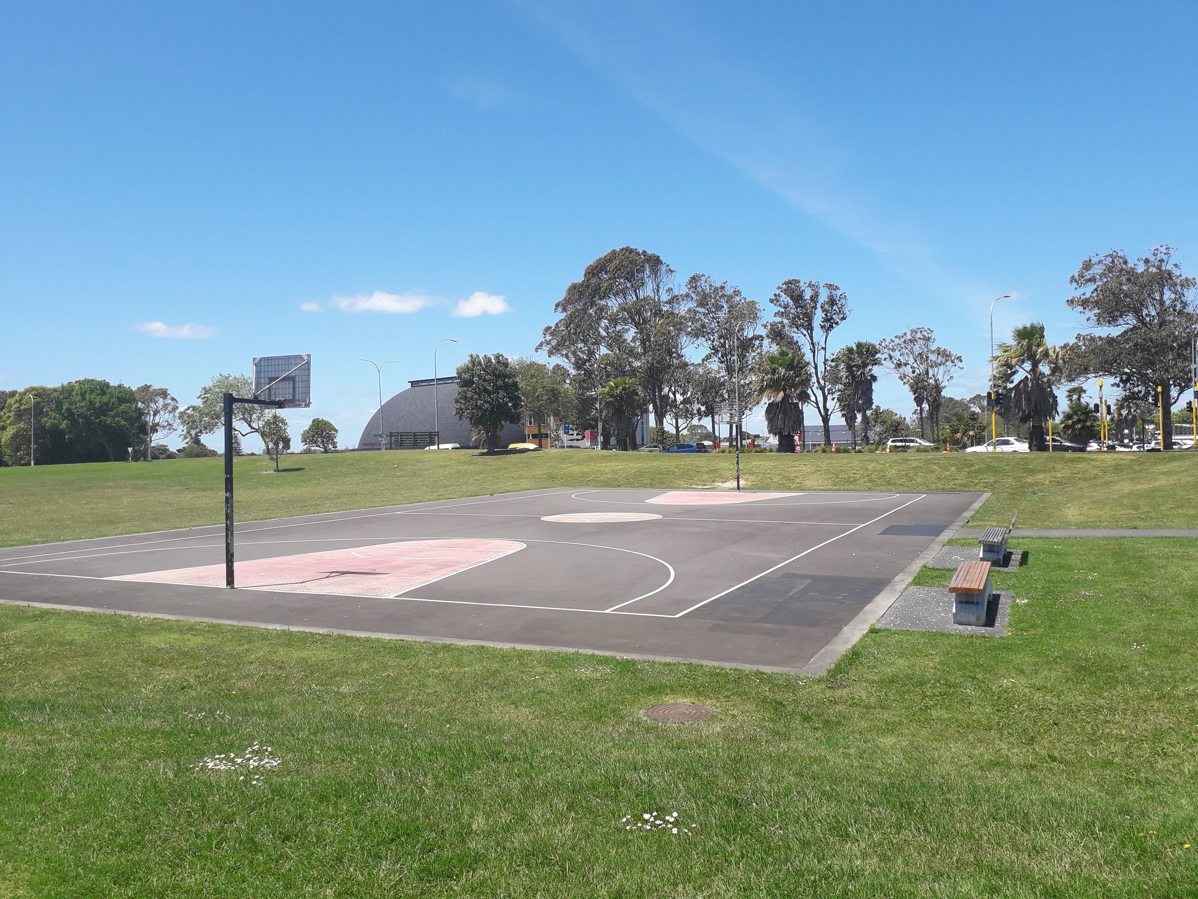 Existing Photograph - Basketball Court