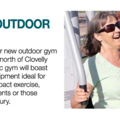 Clovelly outdoor gym