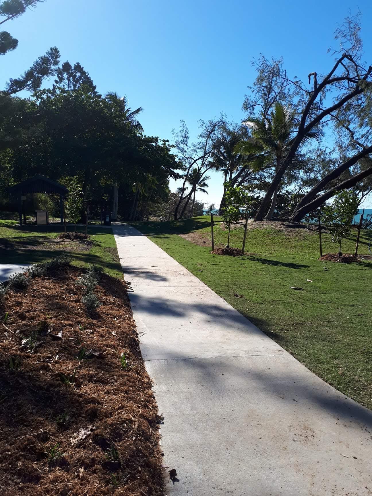 Blacks Beach park upgrade 2