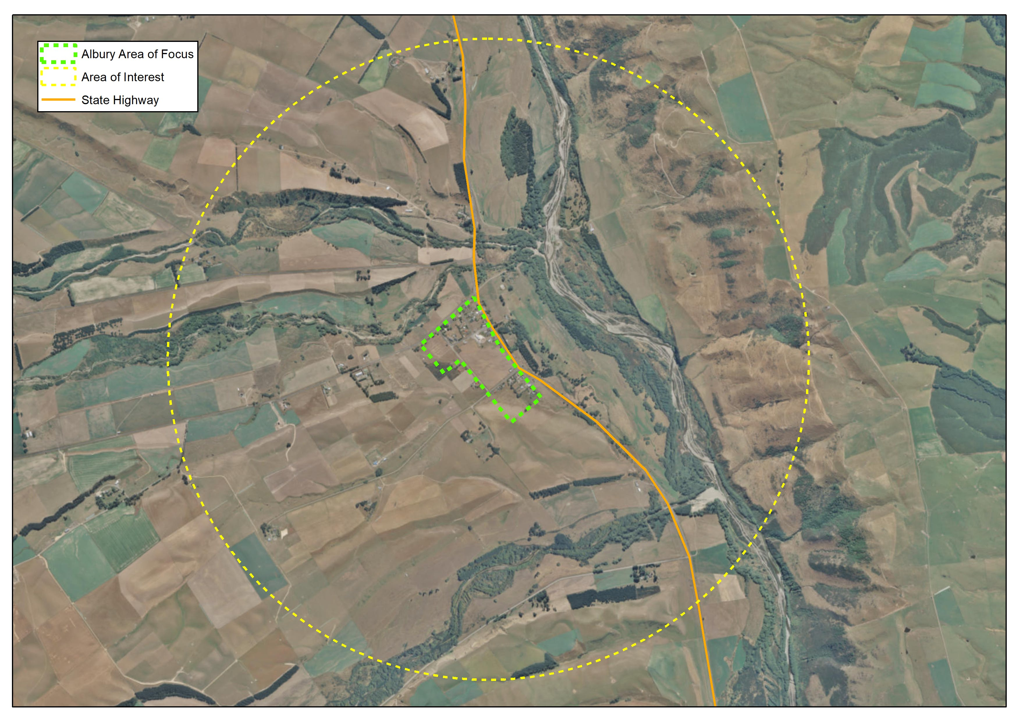 Albury Area of Focus and Interest