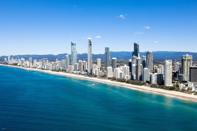 View of the Gold Coast