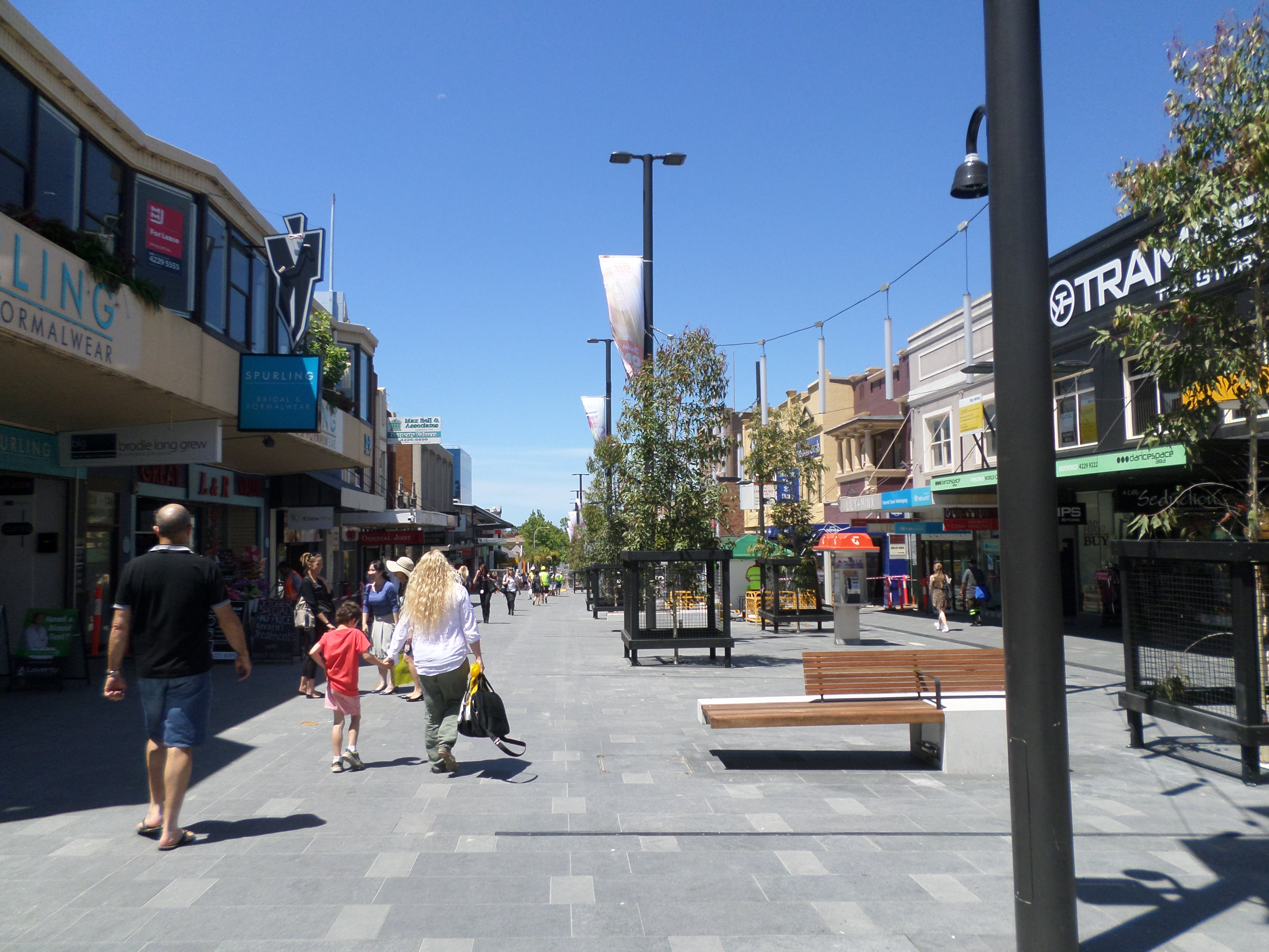 Crown St Mall - East