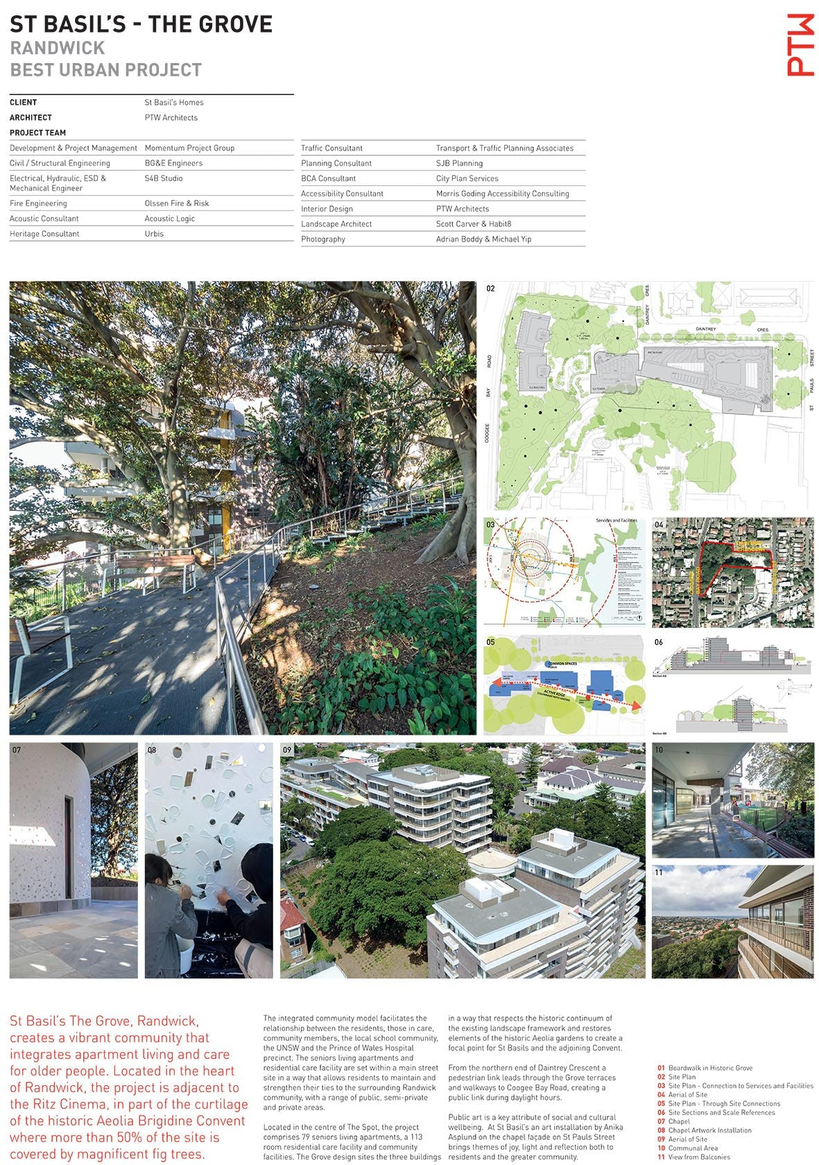 St Basils The Grove Best Urban Project