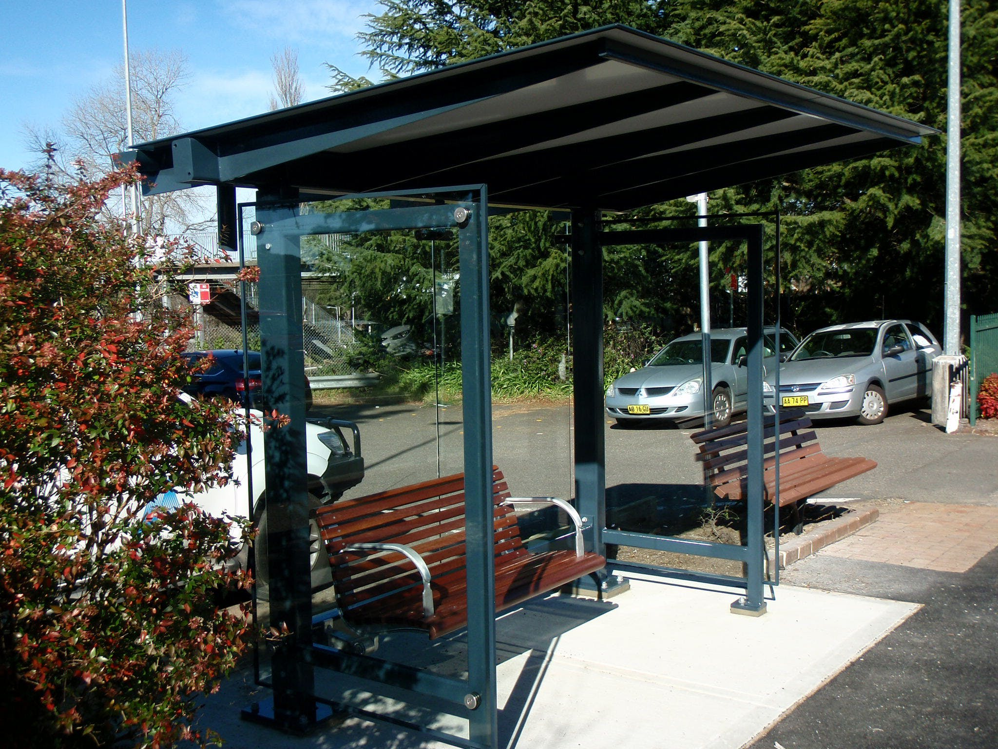Accessible bus stop