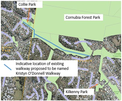 Collie Park and Cornubia Forest Park Walkway