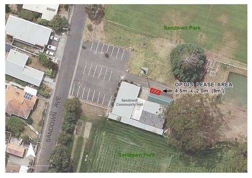 Sundown Park Optus lease site