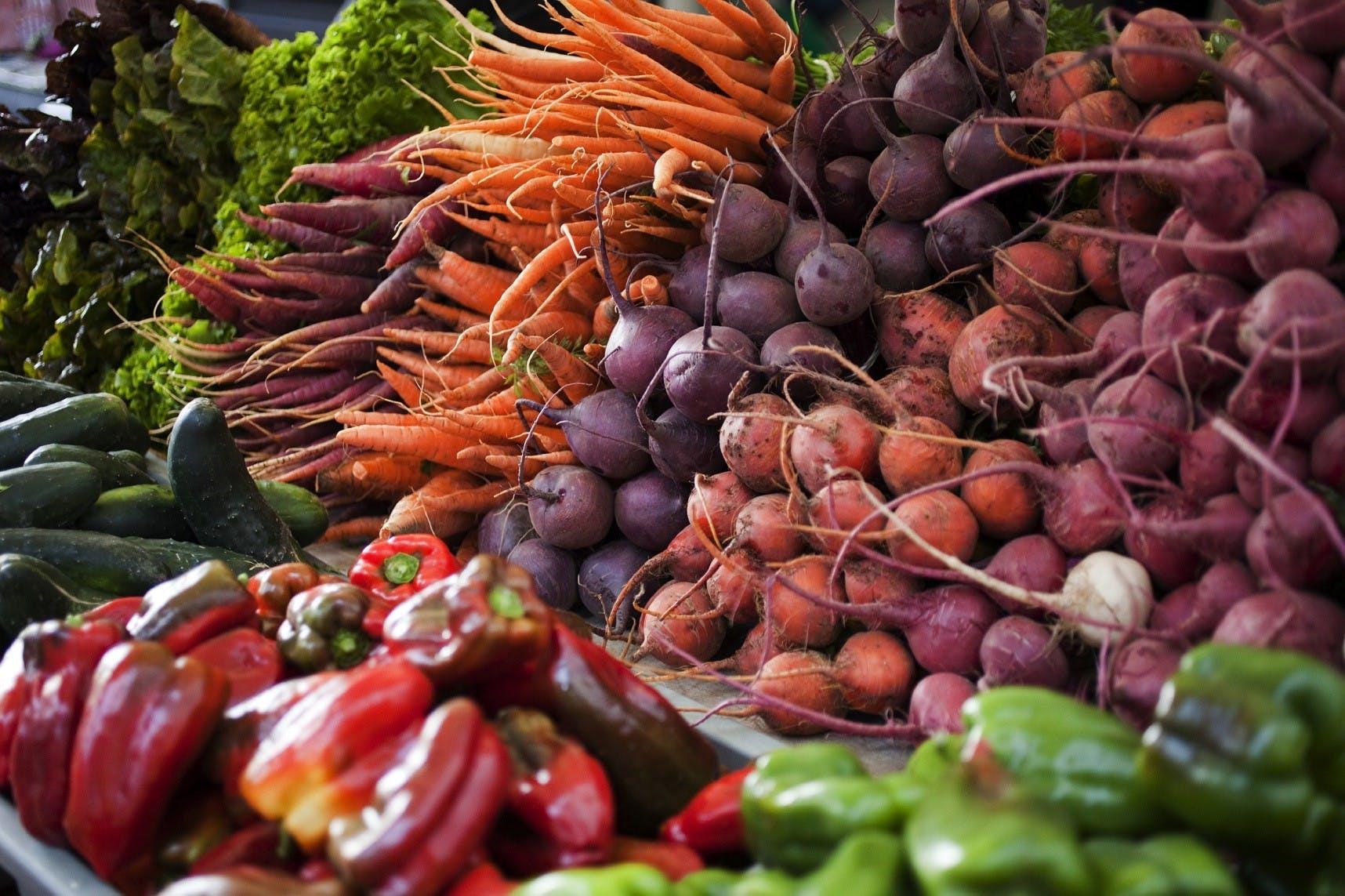 Farmers Markets Fresh Vegies