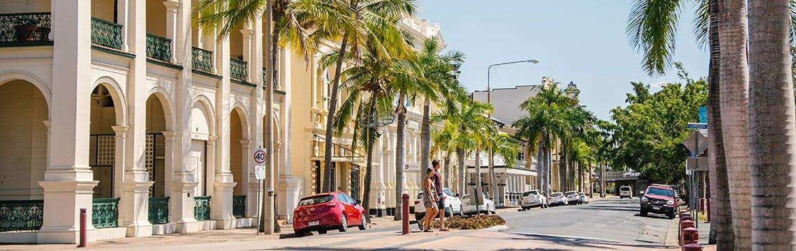 Rockhampton streetscape