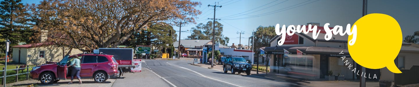 Your Say Yankalilla Banner - Normanville Main Street
