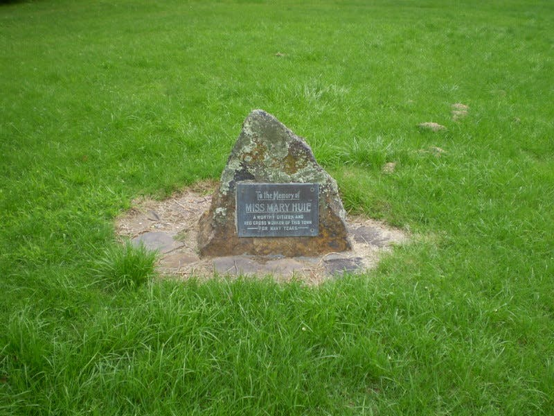 Mary Huie Memorial, Memorial Park, Blackheath