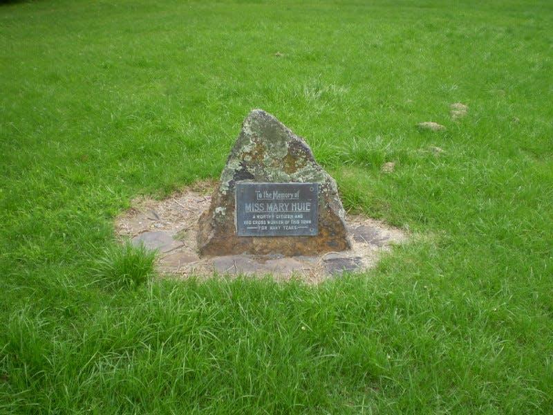 Mary Huie Memorial, Memorial Park, Blackheath
