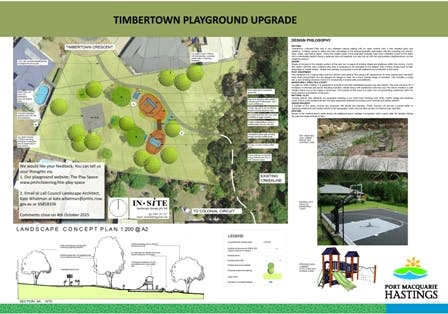 Timbertown Playground Upgrade