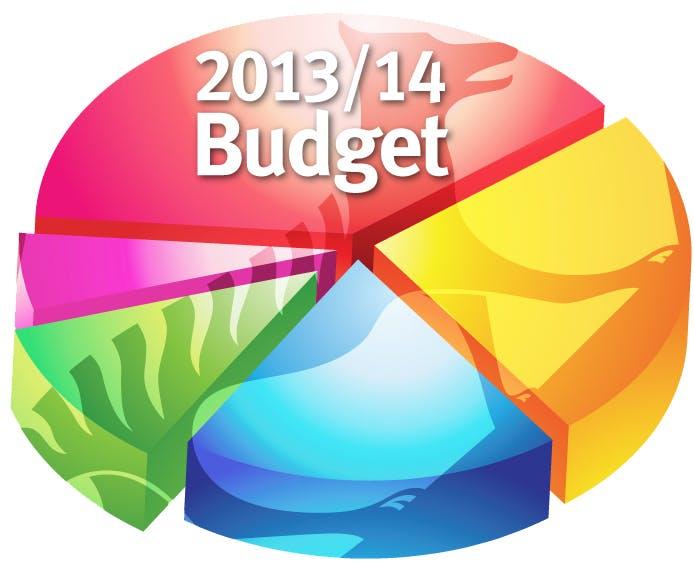 2013/14 Budget Graphic