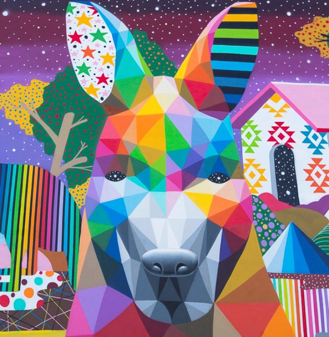 Paint subi public art
