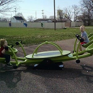 Special Needs Playground Teeter Totter 300
