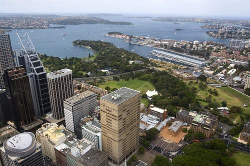 Woolloomooloo from Central Sydney