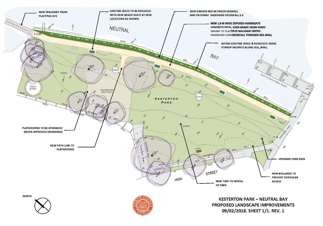 Kesterton park improvements plan