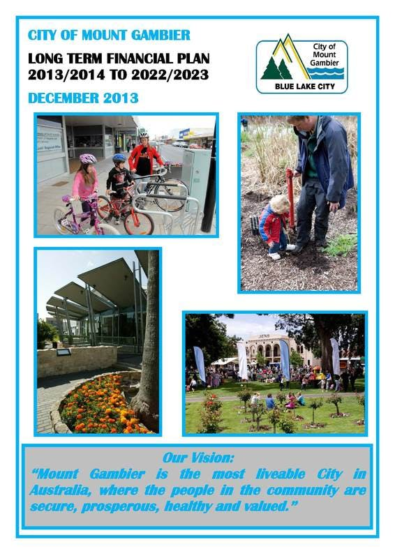 City of Mount Gambier Long Term Financial Plan