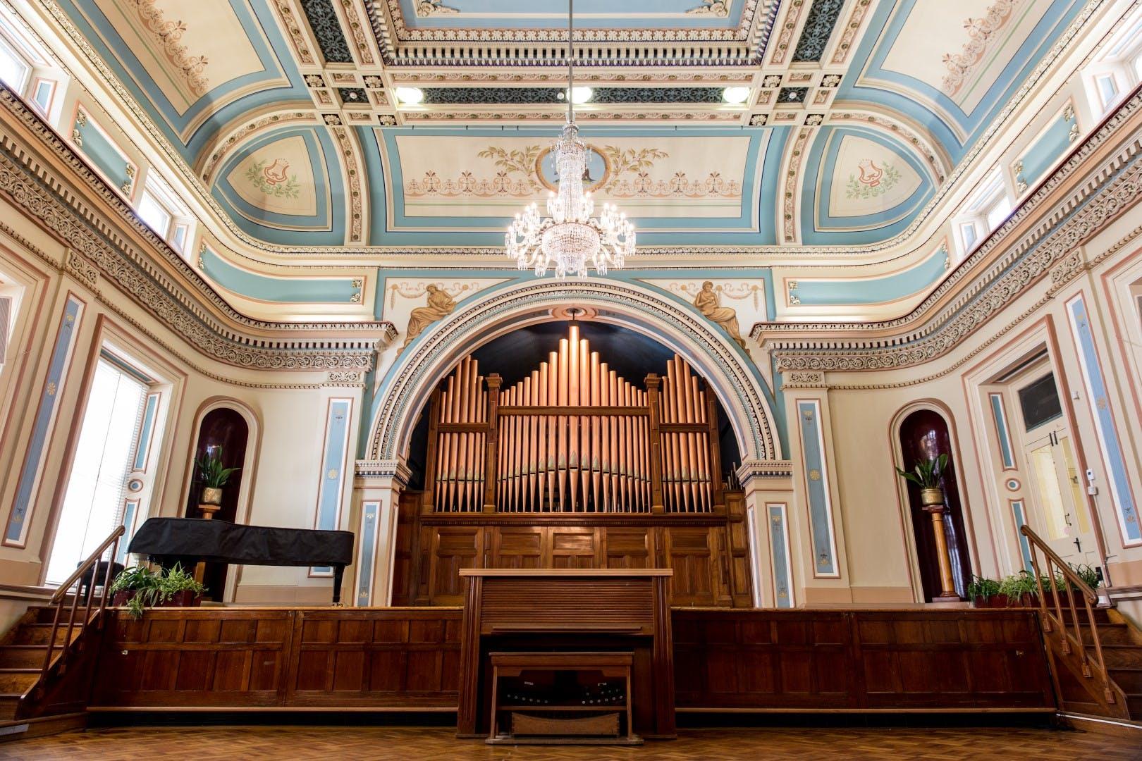 Hobart Town Hall - Organ