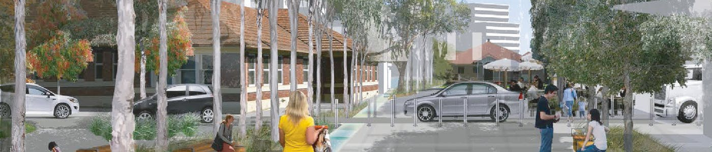 Yeerongpilly Green artist impression