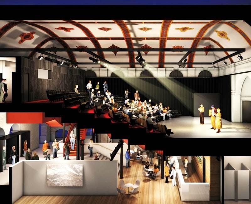 Eternity Playhouse internal