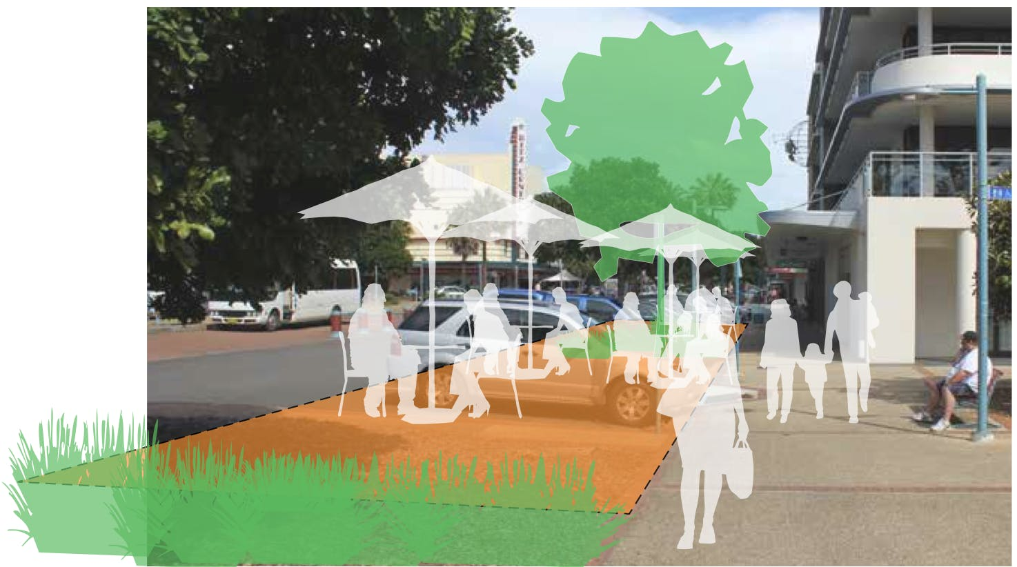 Proposed Horton Street Town Square