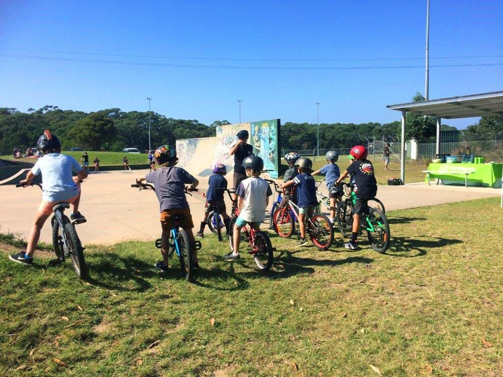 BMX at Ulladulla Skate Park