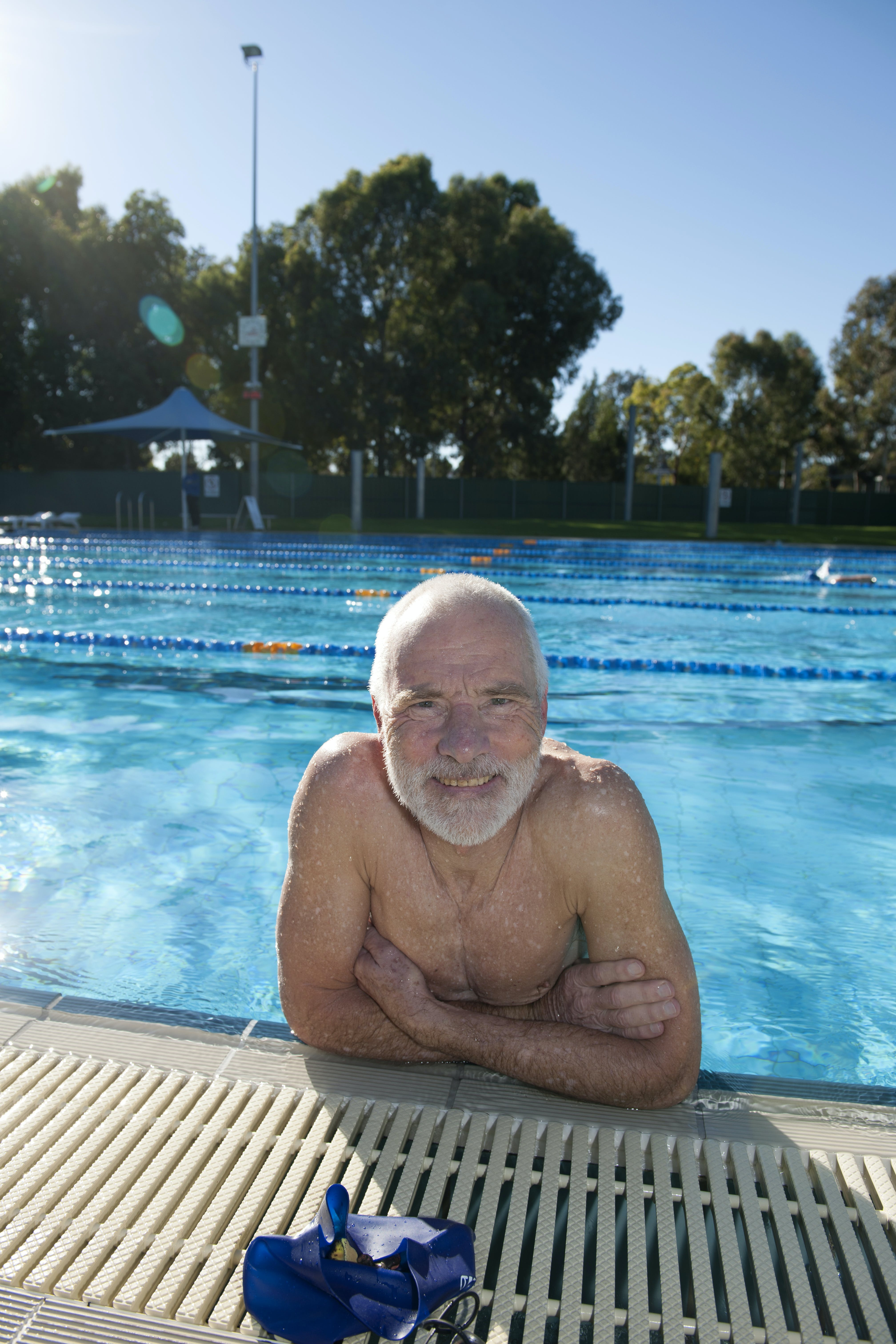 Keeping fit at Unley Swim Centre