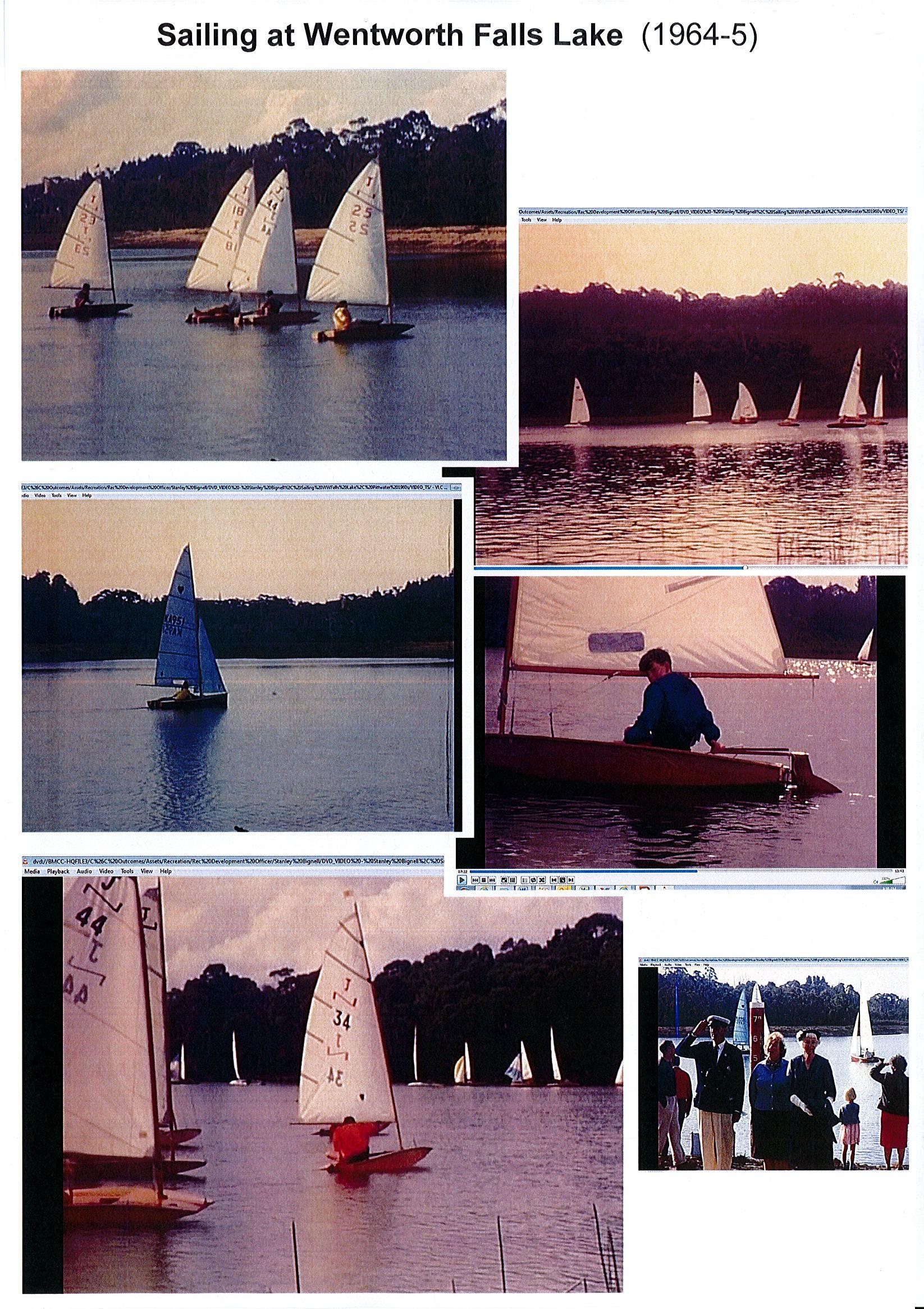 Sailing Pics Ww Falls Lake Stanley Bignell 1