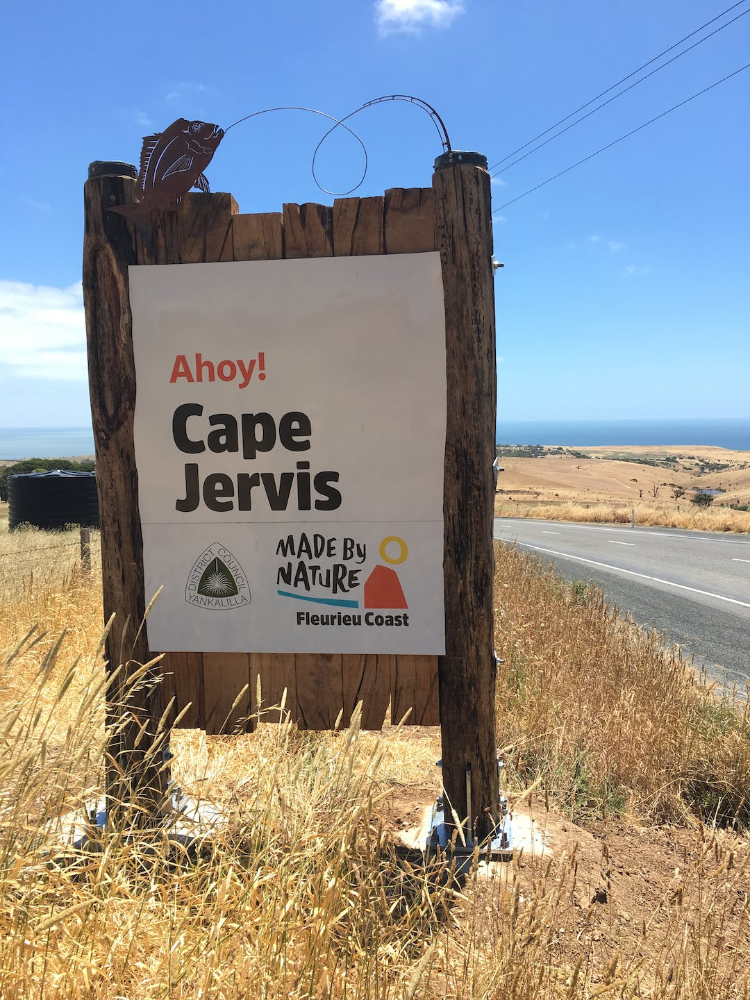 Localitysign installed capejevis 2
