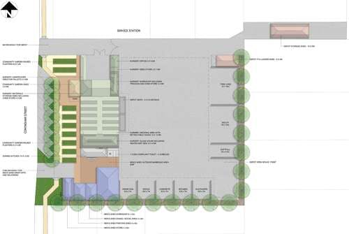 Conyngham Street Depot Master Plan First Concepts