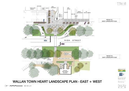 Wallan Town Heart Location Plan Combined