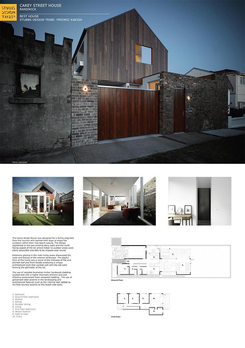 Photo Gallery. Carey Street House Randwick
