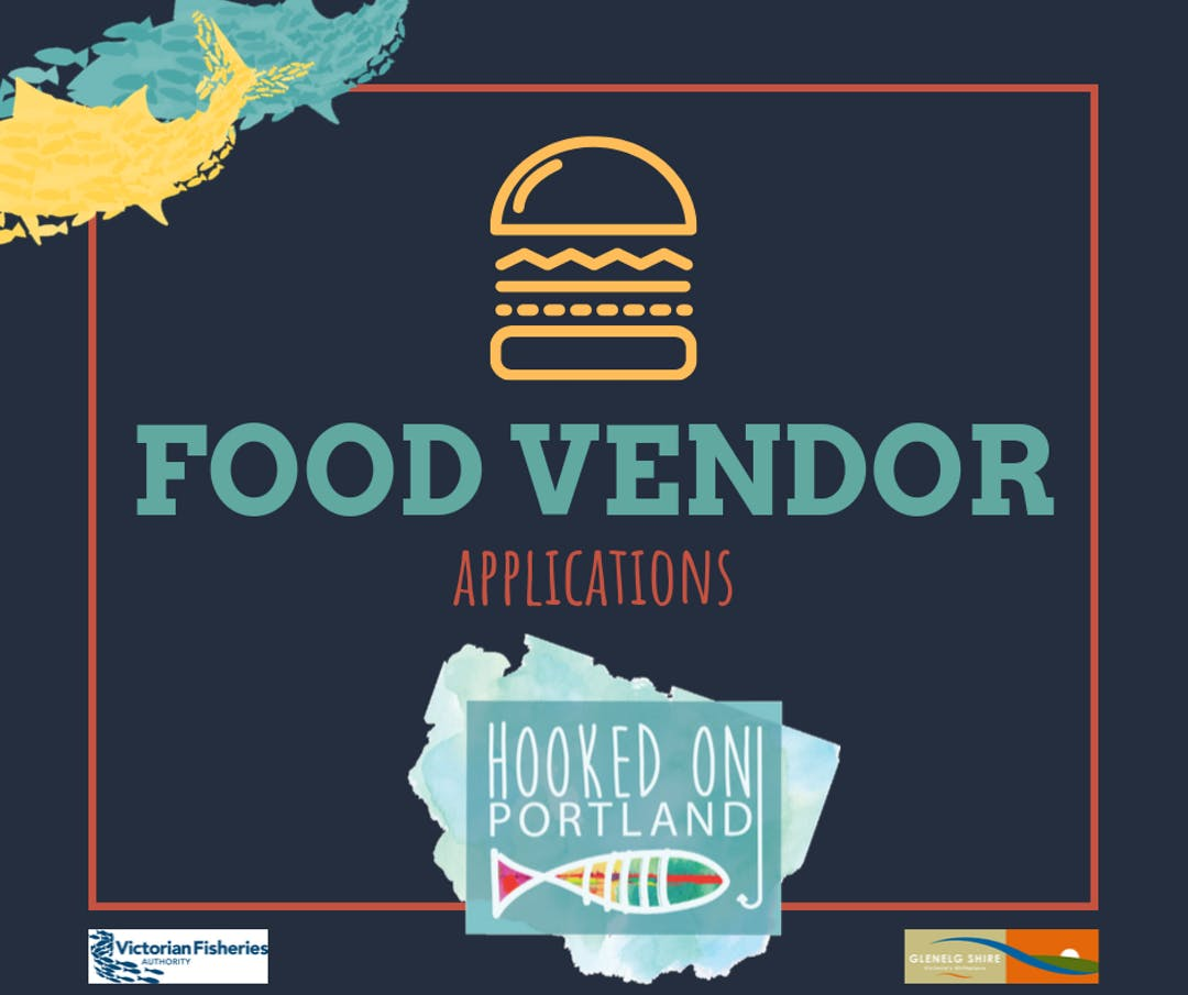 Your go to page for being a food vendor at Hooked on Portland in 2020