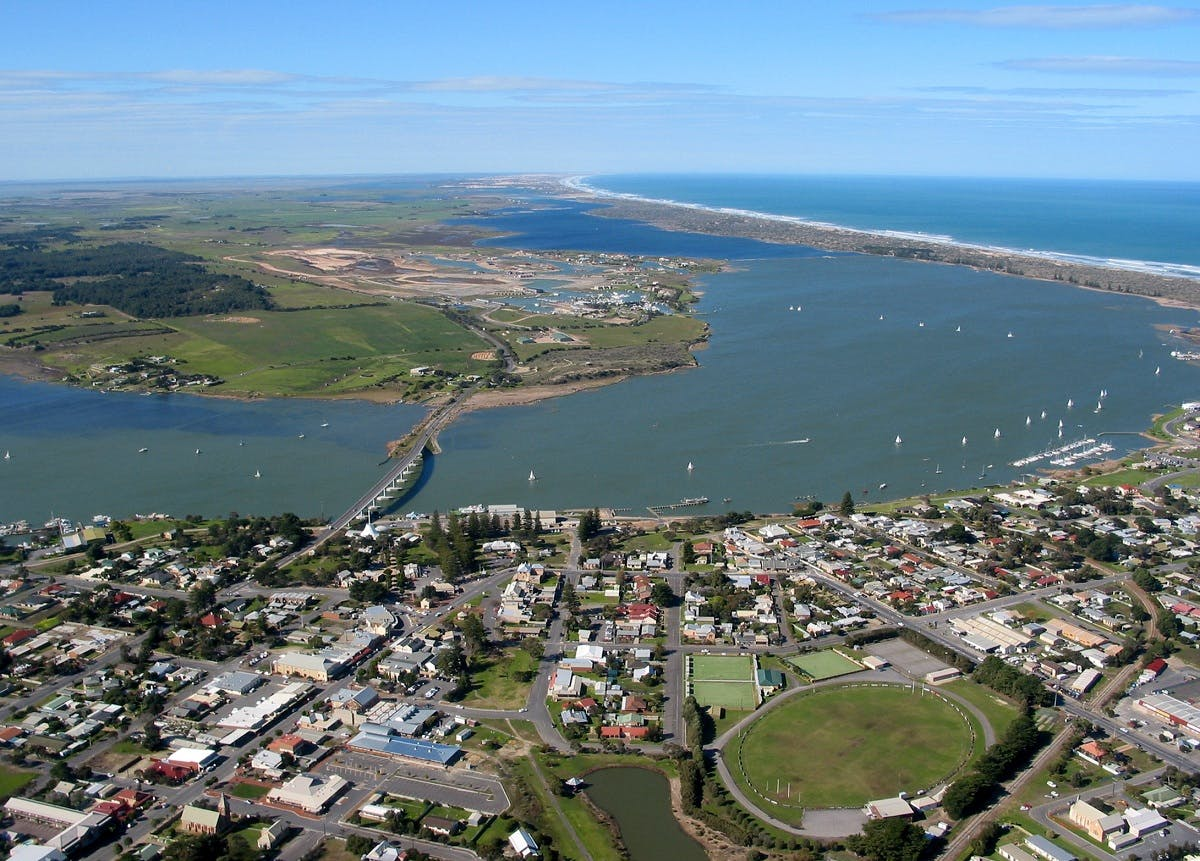 Goolwa Murray Mouth Aerial