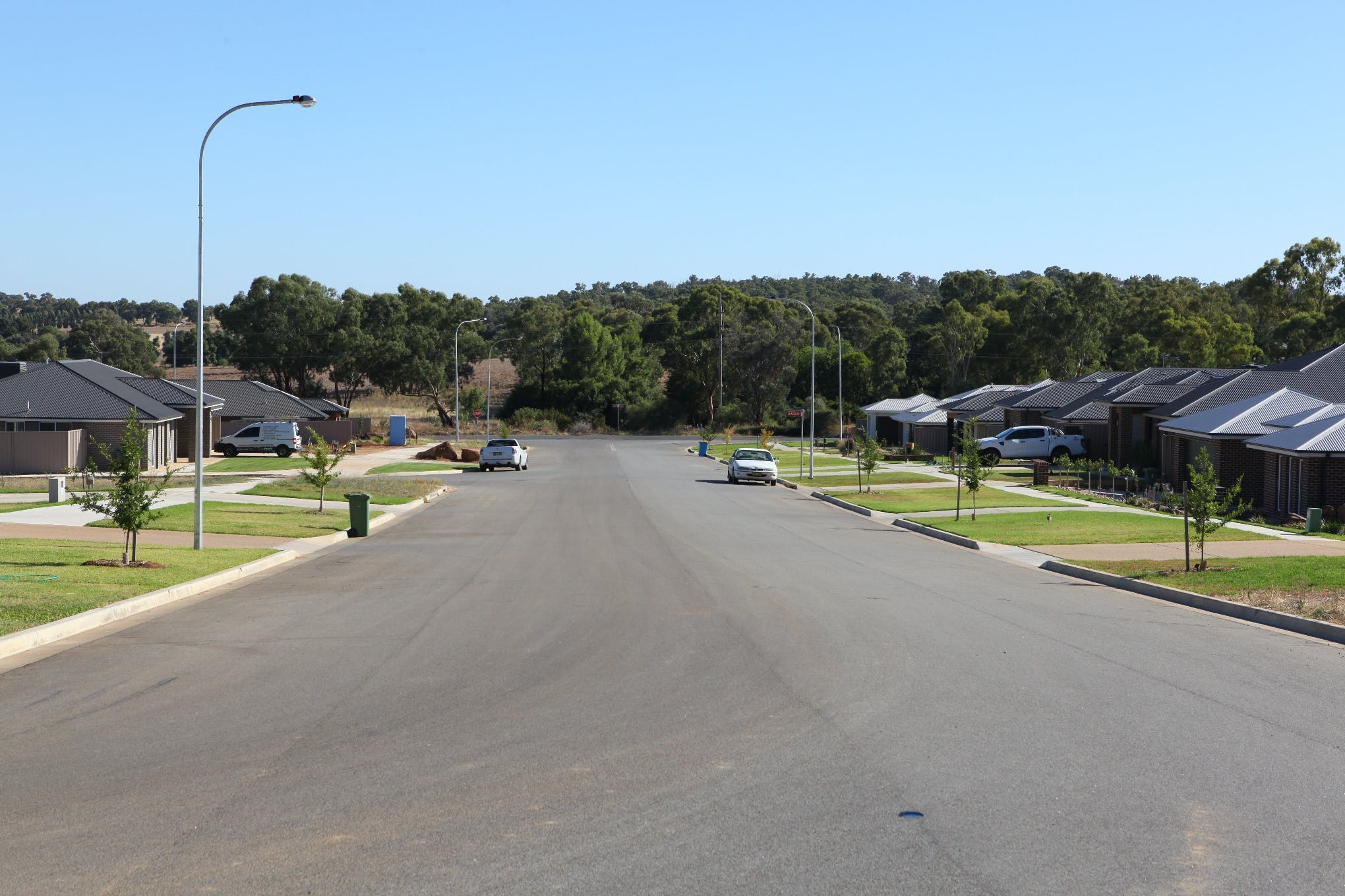 Example of a wide street