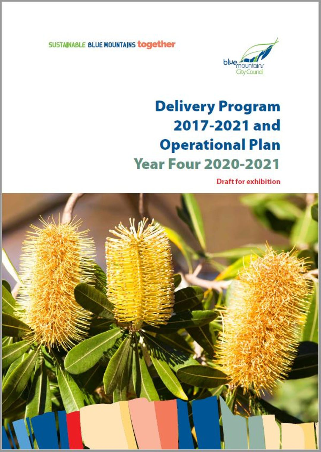 Cover image for Draft Delivery Program 2017-2021 and Operational Plan 2020-2021