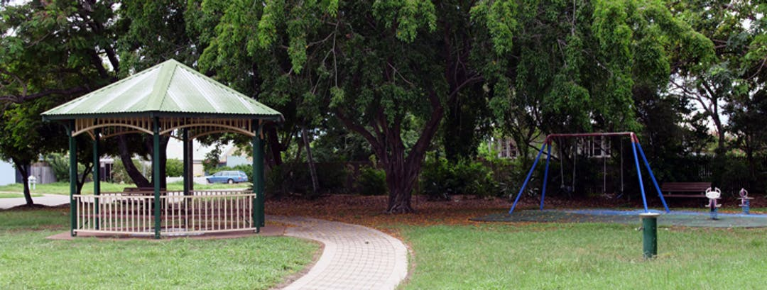 Existing playground equipment in Magpies Park.