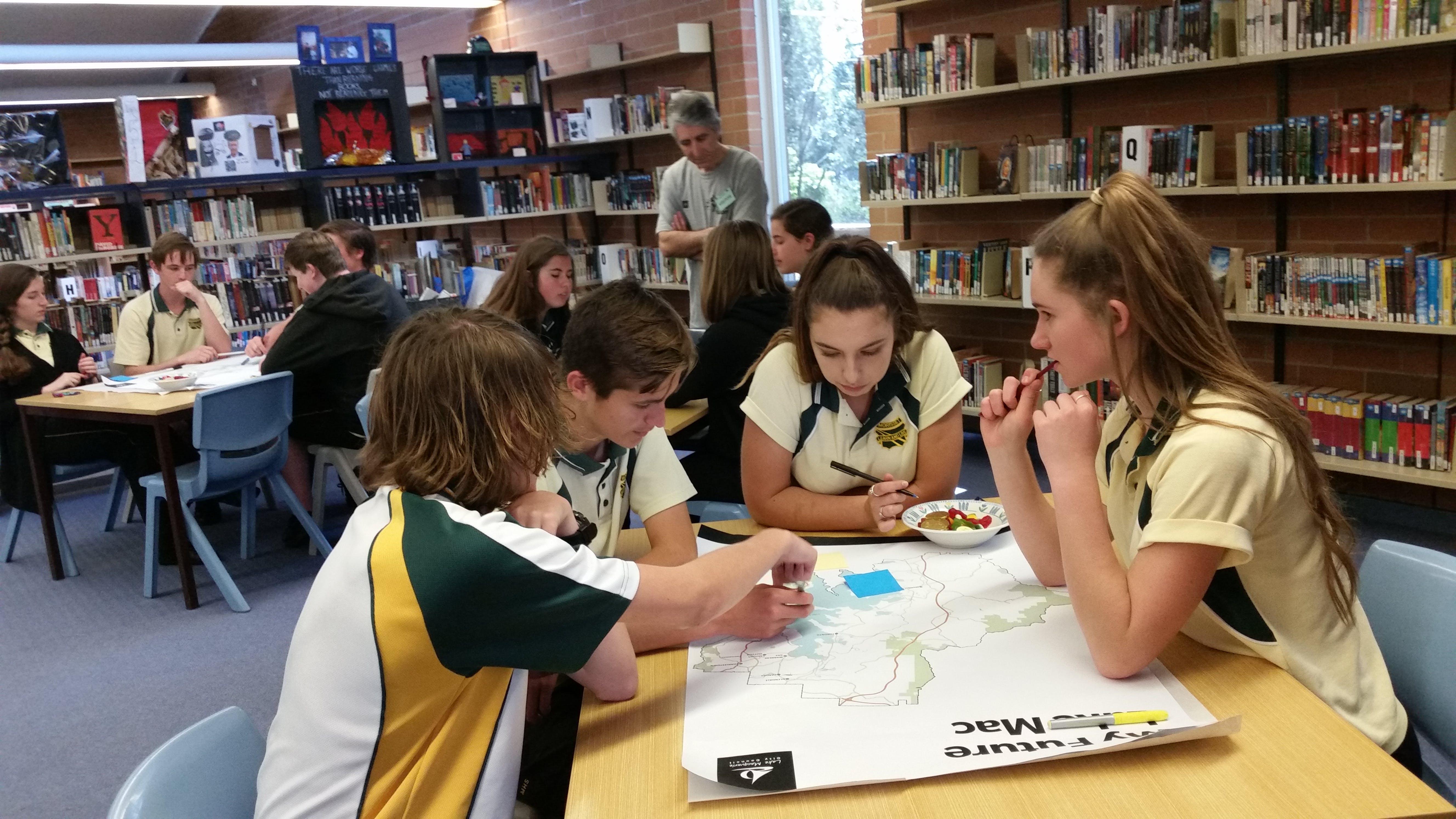 Morisset High School planning workshop gets serious