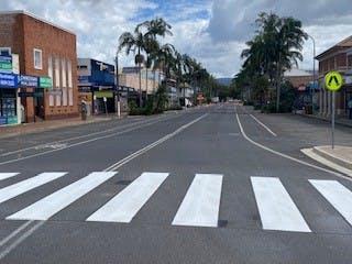 New pedestrian crossing