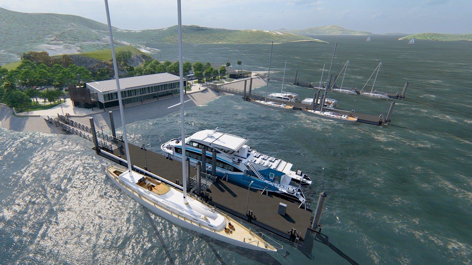 Concept Shute Harbour - Seaside