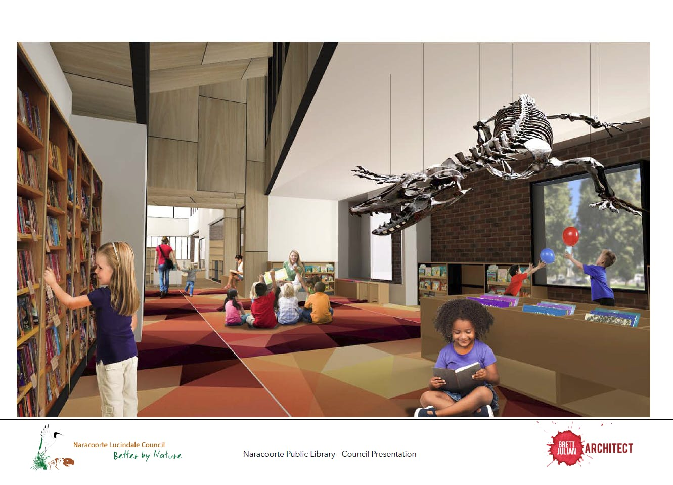 7. Schematic Design Childrens Area