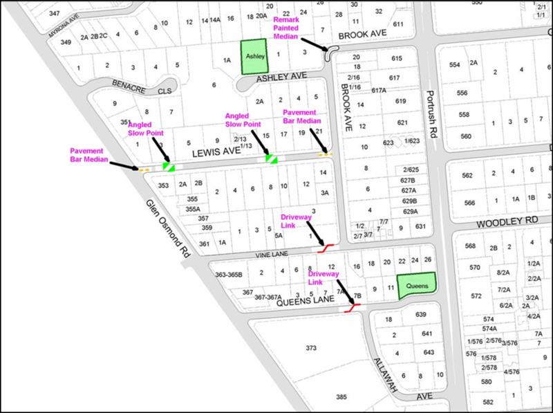Glen Osmond Map