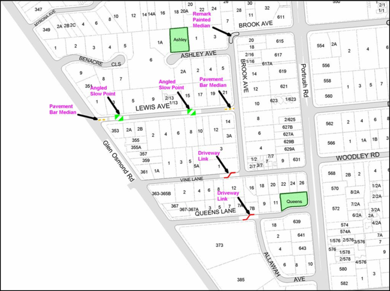 Glen Osmond Map