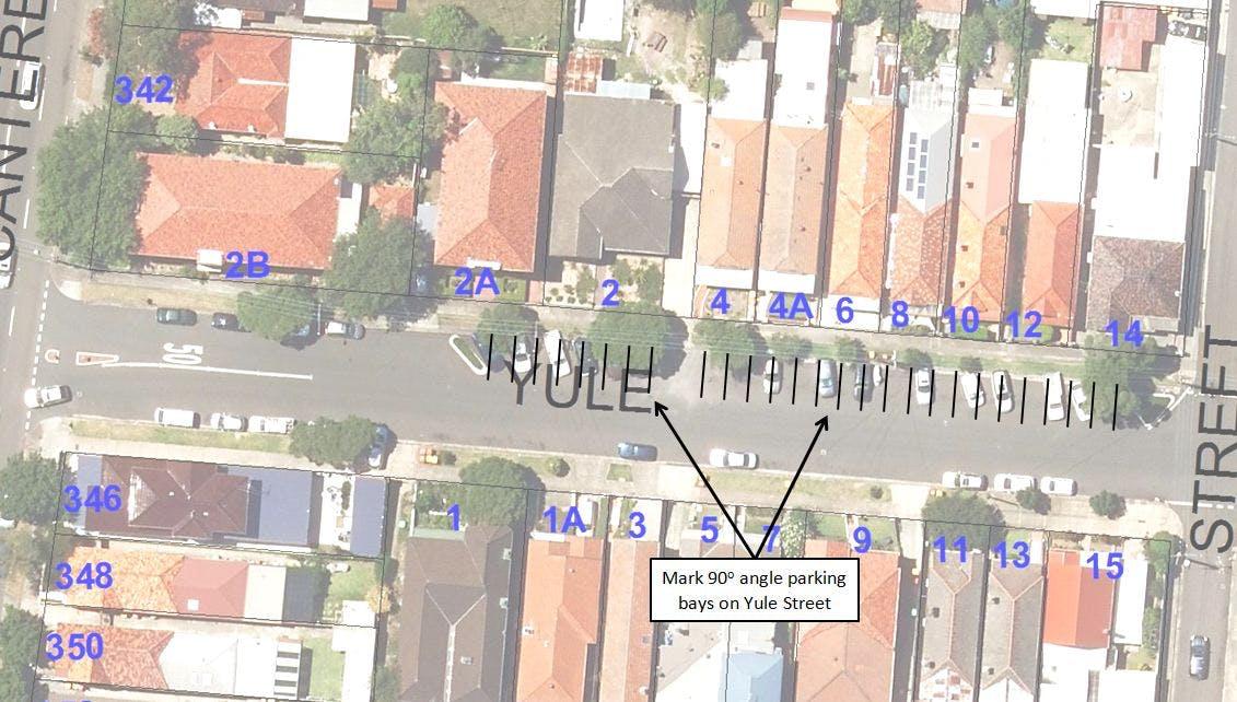 Yule St Map