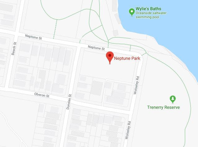 Map Neptune Park