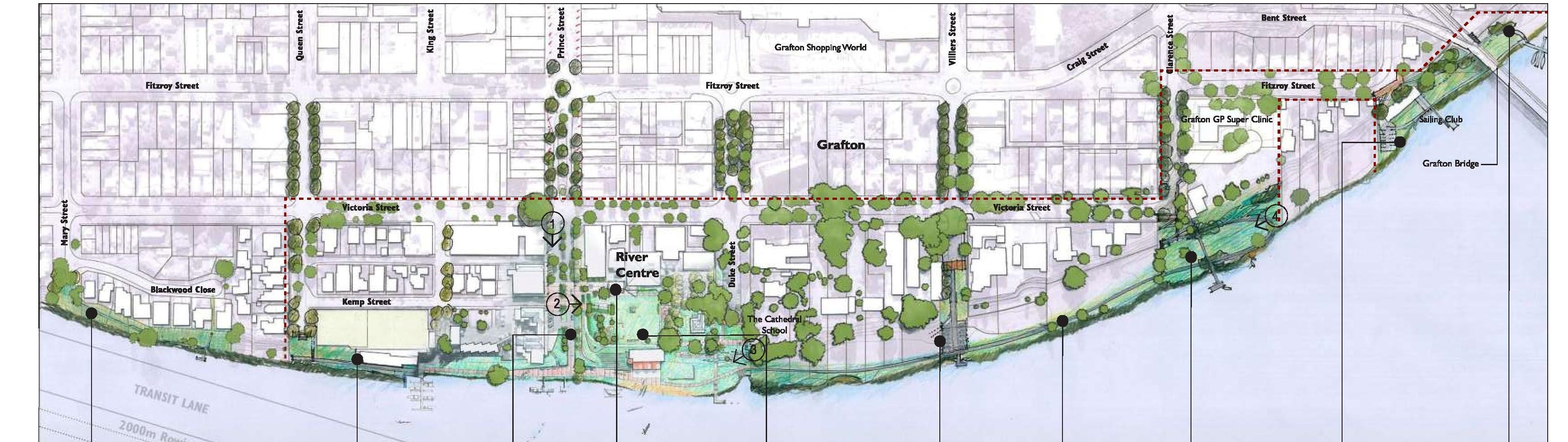 Grafton Waterfront Project