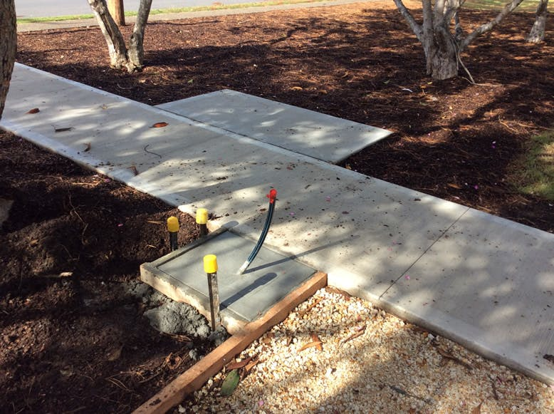 Lasiandra park construction June 2018